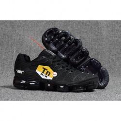 Nike Air VaporMax Plus Tout Noir Pas Cher