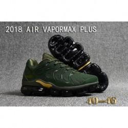 Nike Air VaporMax Plus Vert KPU Armée Doré