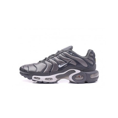 Nike Air Max TN 2019 Homme Argent Soldes Pas Cher