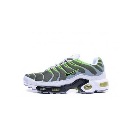 Nike Air Max TN 2019 Homme Blanc/Vert Soldes