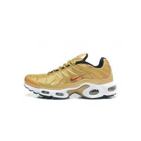 Nike Air Max TN 2019 Homme d'or Pas Cher