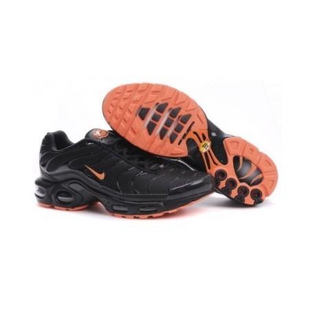 Nike TN 2019 Homme noir/orange Soldes