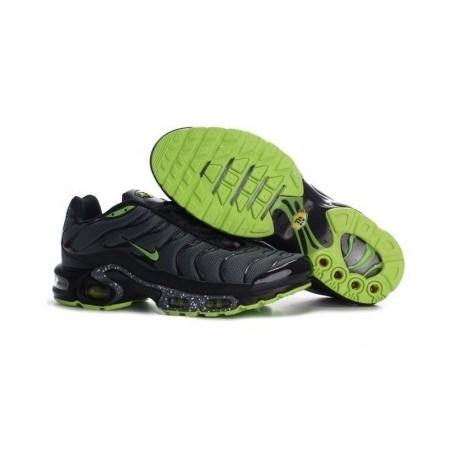 Nike TN 2019 Homme noir/vert Soldes