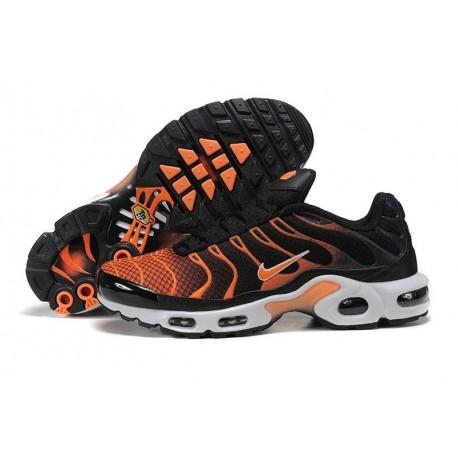Achat Nike Air Max TN 2018 Homme Chaussures Noir/Orange à vendre
