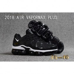 Nike Air VaporMax Plus KPU Noir Blanc Pas Cher