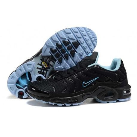 Achetez Nike Air Max TN 2018 Homme Chaussures Noir/Bleu Clair à vendre