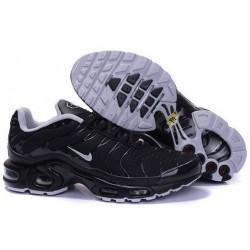 Achat Homme Nike Air Max TN Chaussures Noir Blanche Soldes