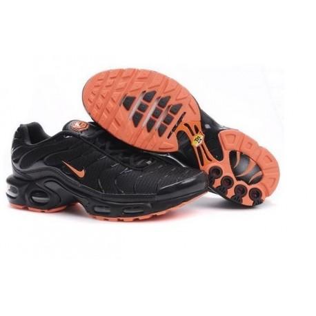 Achetez Homme Nike Air Max TN Chaussures Noir Orange France