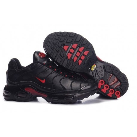 Acheter Homme Nike Air Max TN Chaussures Noir Rouge Moins Cher