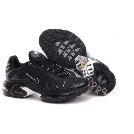En ligne Homme Nike Air Max TN Chaussures Noir Blanche Pas Cher