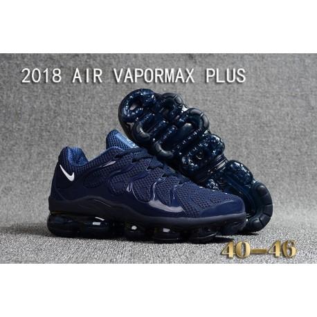 Nike Air VaporMax Plus KPU Bleu Foncé Blanc