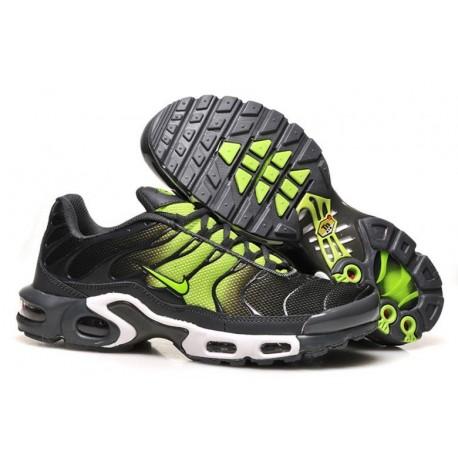 Achetez Homme Nike Air Max TN Chaussures Noir Fluorescent Verte à vendre
