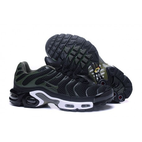 Chaussures Nike Air Max TN Homme Noir/Blanc/Olive