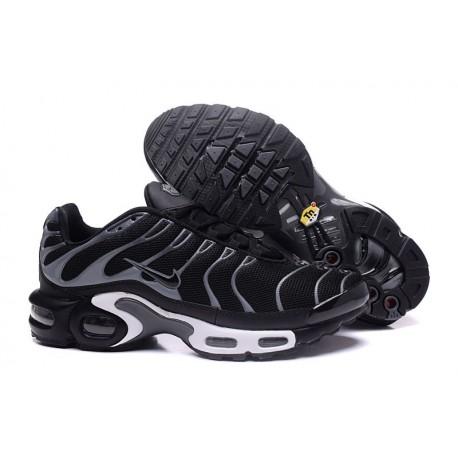 Chaussures Nike Air Max TN Homme Noir/Gris/Blanc