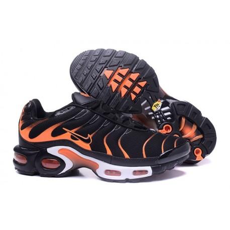 Nike Air Max TN Chaussures Hommes Noir/Blanc/Orange