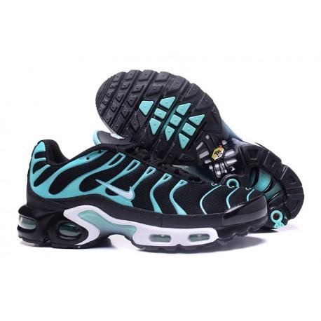 Nike Air Max TN Chaussures Hommes Noir/Menthe