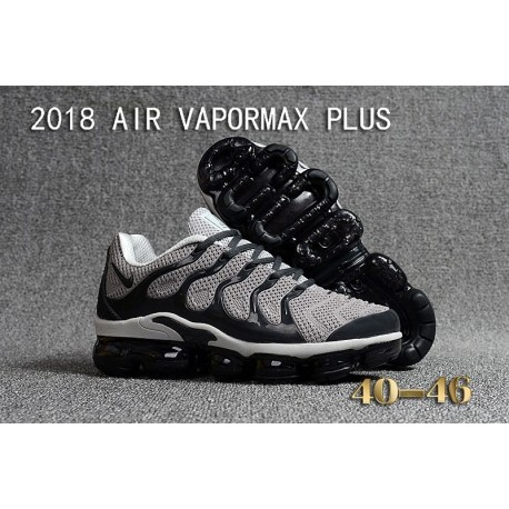 Nike Air VaporMax Plus KPU Gris Noir Blanc