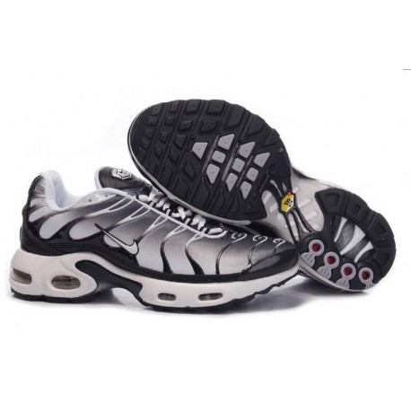 Nike Air Max TN Chaussures Hommes Noir Gris Blanc