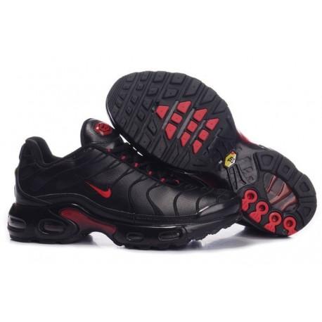 Chaussures Nike Air Max TN Homme Noir/Rouge