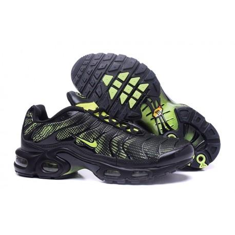 Nike Air Max TN Chaussures Hommes Noir Vert