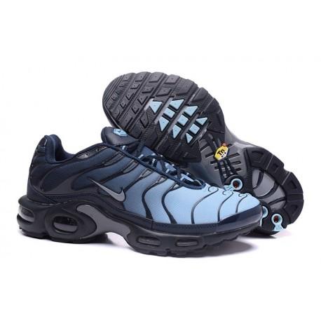 Chaussures Nike Air Max TN Homme Bleu/Marine/Argent