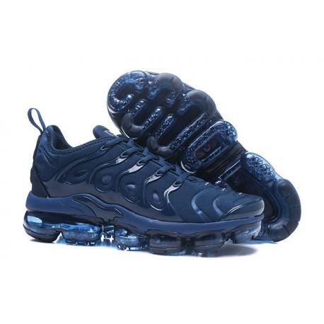 Nike Air VaporMax TN Profond Bleu Pas Cher