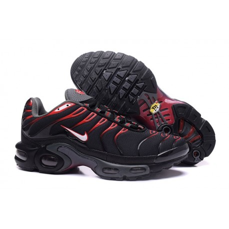 Nike Air Max TN Chaussures Hommes Noir/Rouge/Blanc