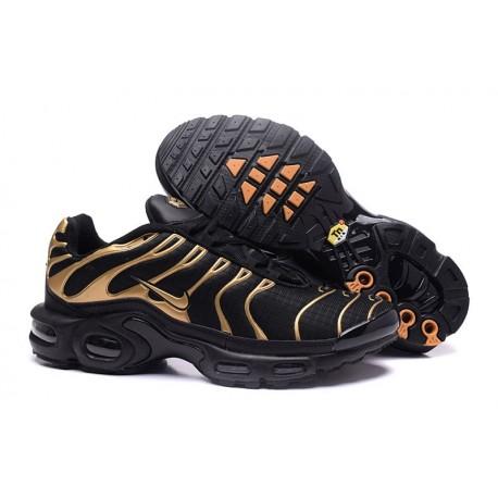 Chaussures Nike Air Max TN Homme Noir/Or
