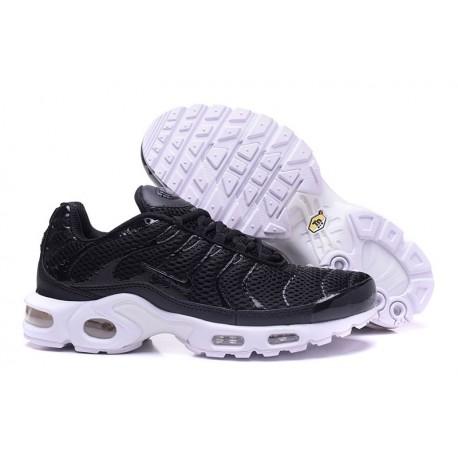 Chaussures Nike Air Max TN Homme Noir/Blanc
