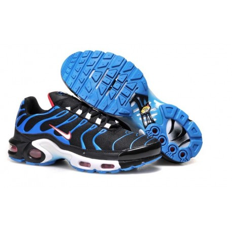 Nike Air Max TN Chaussures Hommes Noir Bleu