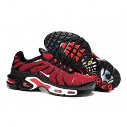 Nike Air Max TN Chaussures Hommes Rouge Noir Blanc
