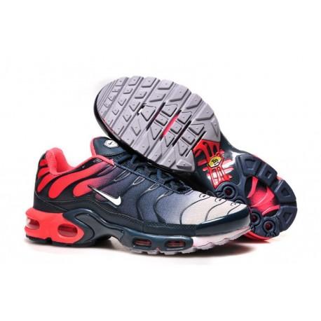 Chaussures Nike Air Max TN Homme Rouge Bleu marine