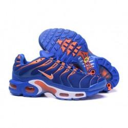 Chaussures Nike Air Max TN Homme Bleu Royal/Blanc/Orange