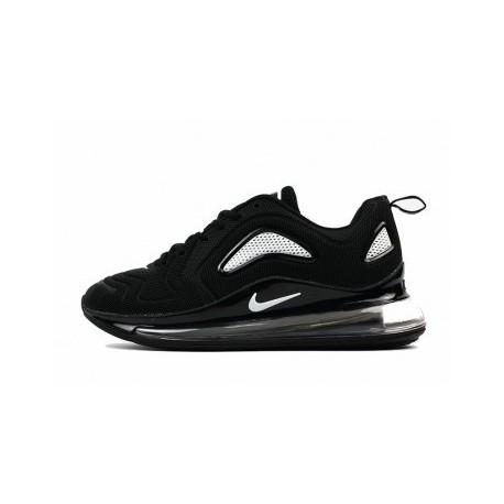 Hommes Nike Air Max 720 Noir/Blanc Pas Cher