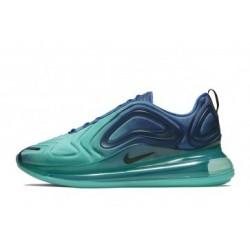 Hommes Nike Air Max 720 Bleu/Vert Pas Cher