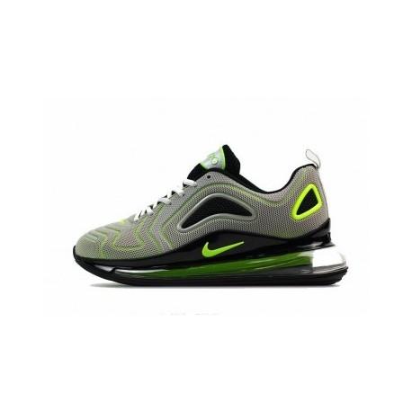 Hommes Nike Air Max 720 Gris/Vert Pas Cher