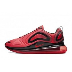 Femme/Homme Nike Air Max 720 Rouge Pas Cher
