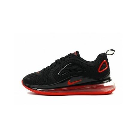 Hommes Nike Air Max 720 Noir/Rouge Pas Cher