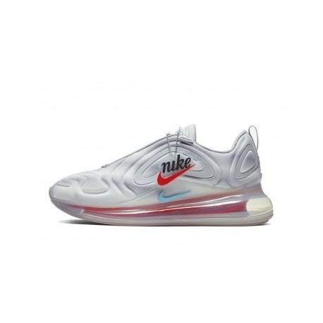 Femmes/Hommes Nike Air Max 720 Argent Pas Cher