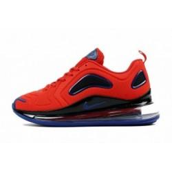 Nike Air Max 720 Hommes Rouge/Bleu Pas Cher