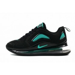 Hommes Nike Air Max 720 Noir/Vert Pas Cher
