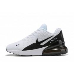 Nike Air Max 270 Blanc/Noir Pas Cher