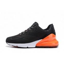 Hommes Nike Air Max 270 Noir/Orange Pas Cher