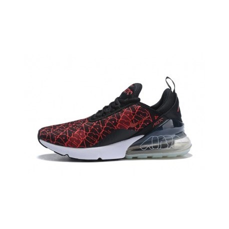 Nike Air Max 270 Rouge/Noir Hommes Pas Cher