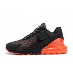 Hommes Nike Air Max 270 Gris/Orange Pas Cher