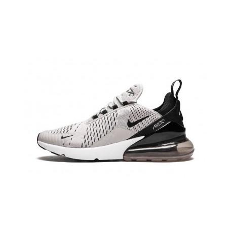 Hommes Nike Air Max 270 Noir/Gris Pas Cher