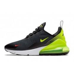 Hommes Nike Air Max 270 Noir/Vert Pas Cher