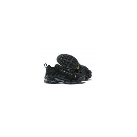 TN 2019 Homme Nike Air Max Plus Tous Ultra Noir pas cher