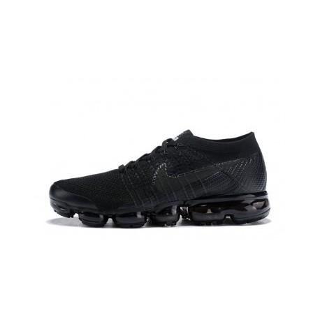 Hommes Nike Air Vapormax Flyknit Noir Pas Cher