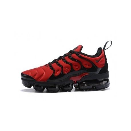 Nike Air VaporMax Plus/TN Noir/Rouge Pas Cher